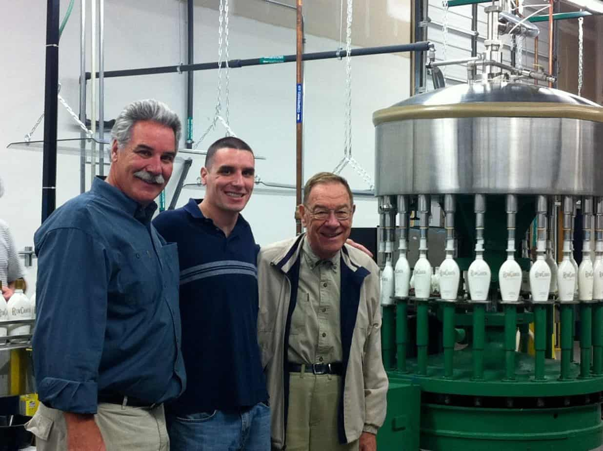 The Maas family, Founders of Rumchata