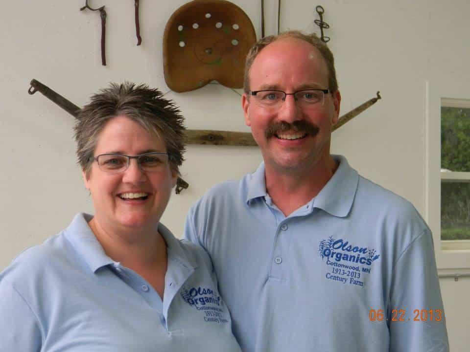 Carolyn and Jonathan Olsen