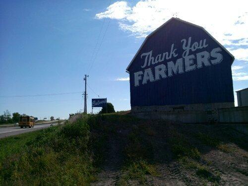 Culver's Big Blue Barn