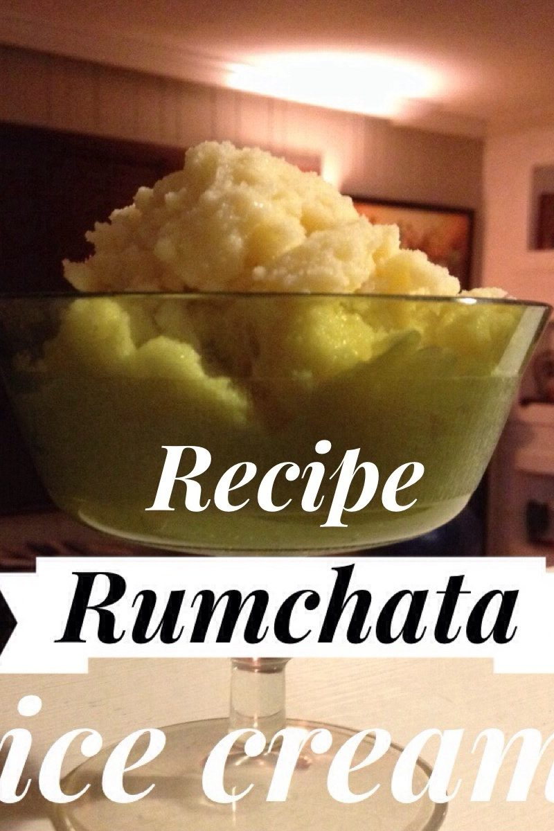 Recipe RumChata Snow Ice Cream