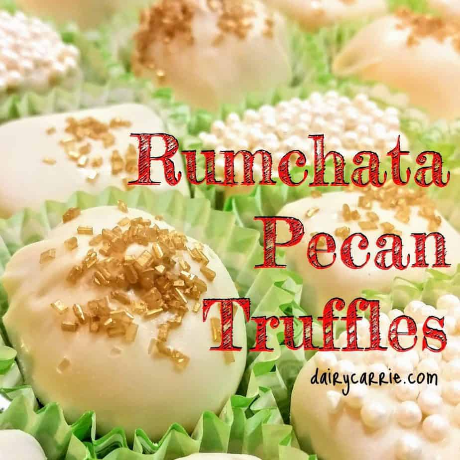 Rumchata Truffles