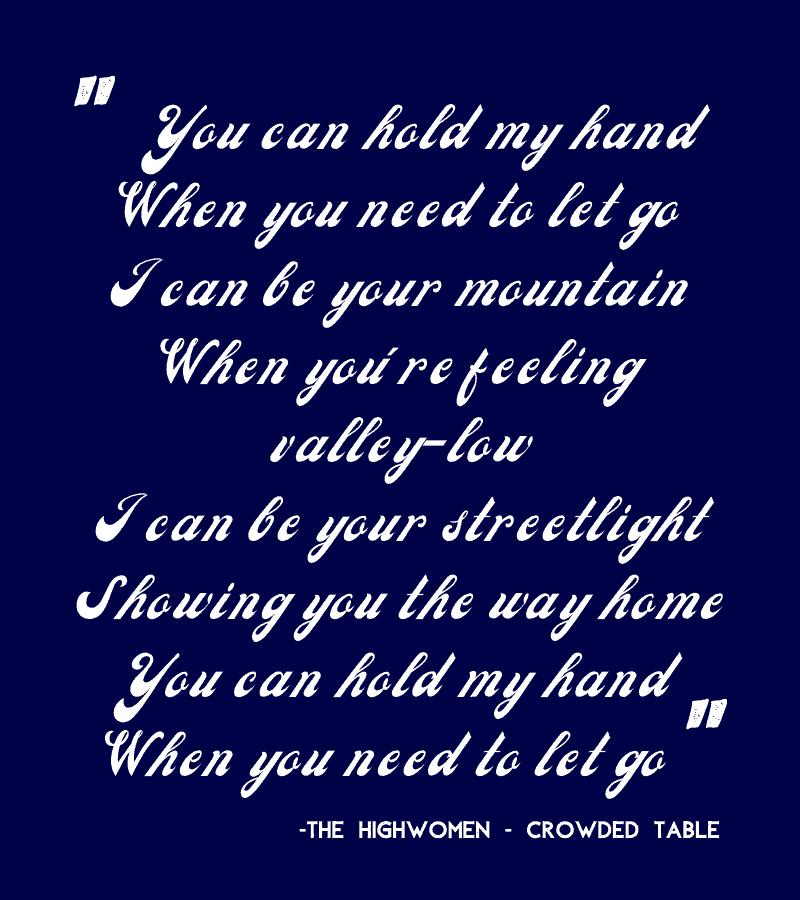 Crowded Table Lyrics