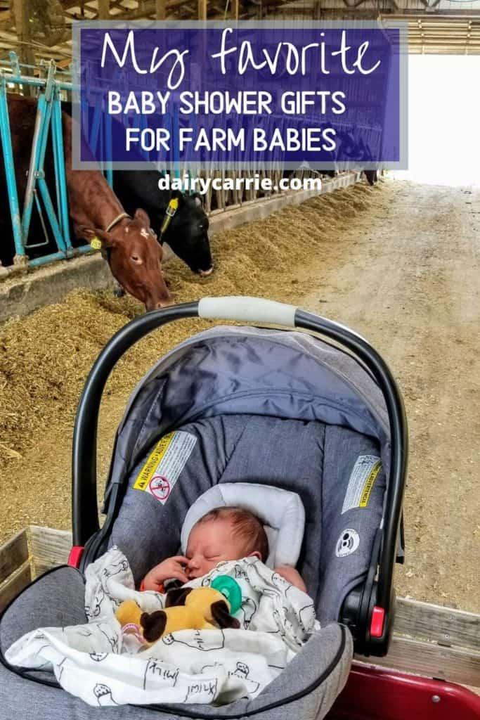 Farm baby gift ideas